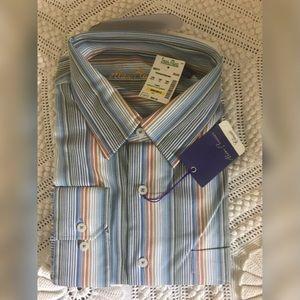 Alan Flusser Misty Long Sleeve Dress Shirt